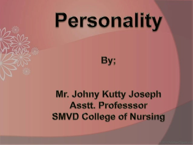 """Meaning and Definition  """"Personality"""" is a dynamic and organized set of characteristics possessed by a person that unique..."""