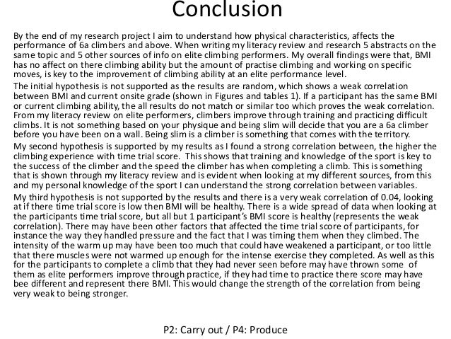 How to Write a Conclusion for a Research Paper