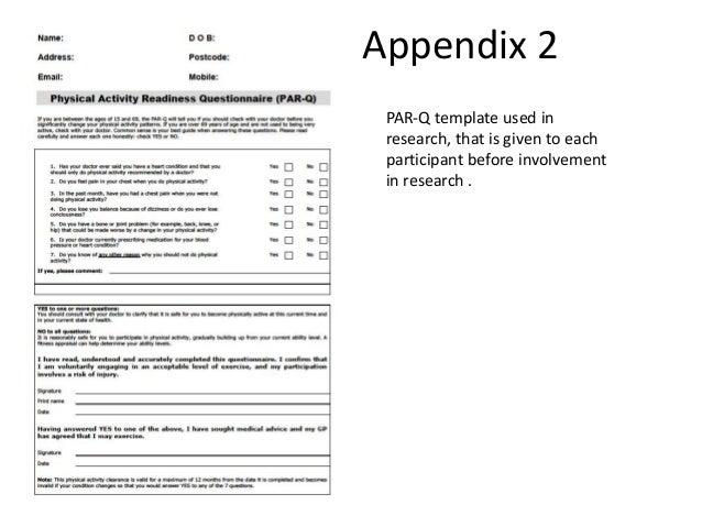 31 Appendix 2 PAR Q Template