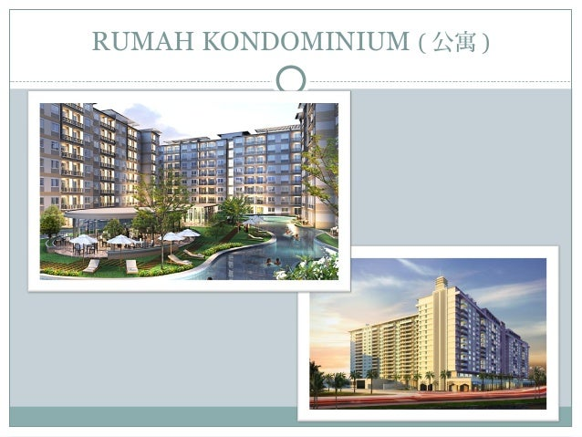 RUMAH KONDOMINIUM ( 公寓 )