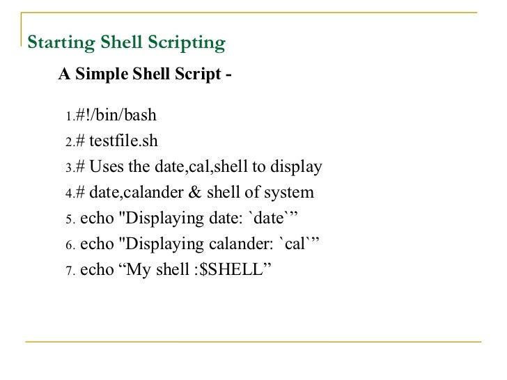 Introduction to linux shell and shell scripting geeksforgeeks.