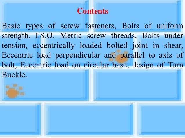 Unit 5 threaded joint Slide 2