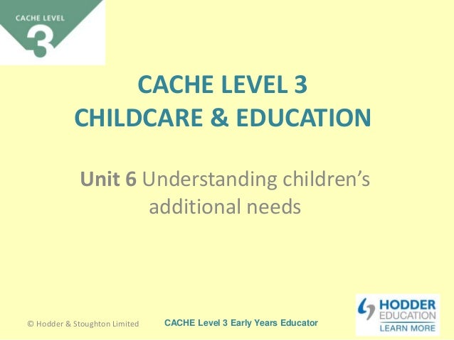 unit 20 childcare level 3 The cache childcare and education (vrq) - level 3 award course is a course designed for students who  unit level: 3, glh: 43 hours  20 21 22 23 24 25 26.