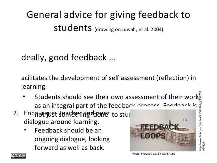 how to give quality feedback learning through dialogue