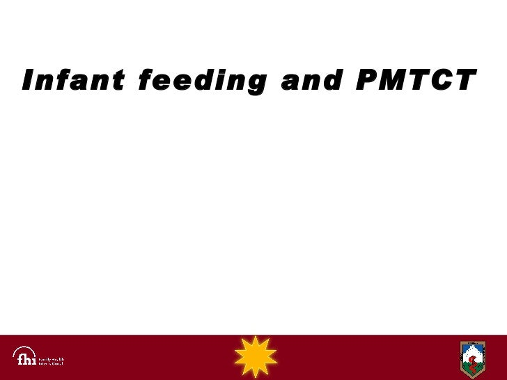 Infant feeding and PMTCT