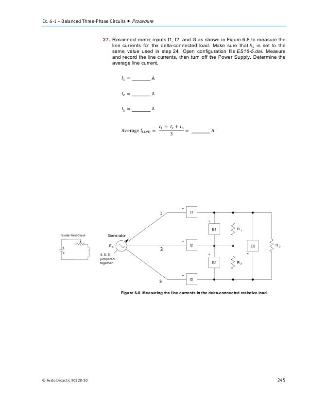 Power Circuits and Transforers-Unit 6 Labvolt Student Manual