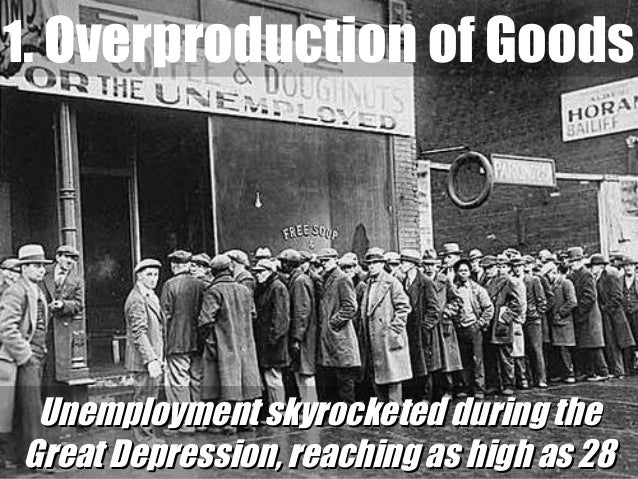 the root causes of the great depression in the united states The role of world war ii in the history of the united states causes of the war the great depression crippled the economies of the united states, great.