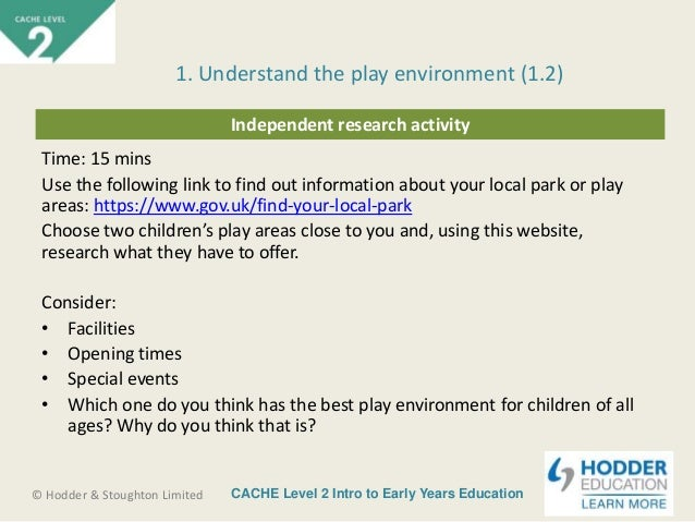 a unit 14 cache level 3 Boost your knowledge in our cache level 1 award in caring for children  unit level: 1, glh: 27 hours credits: 3)  however you must be at least 14 years of age.