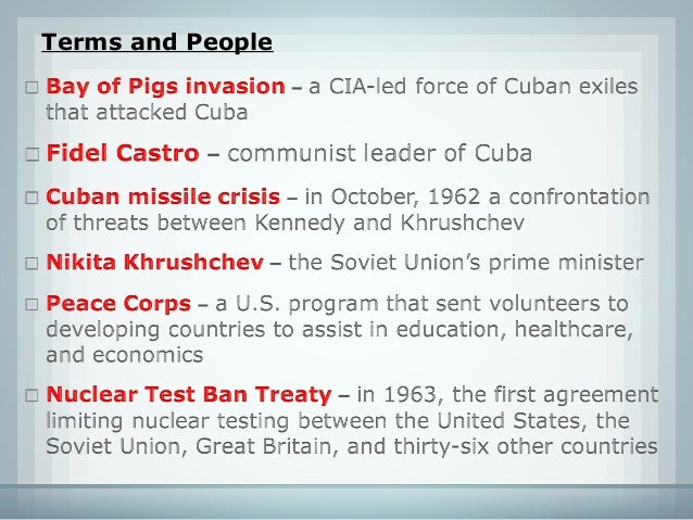 unit 6 section 1 lesson 1 kennedy and the cold war rh slideshare net chapter 13 reading guide the cold war begins answers Online Chapter Books Reading