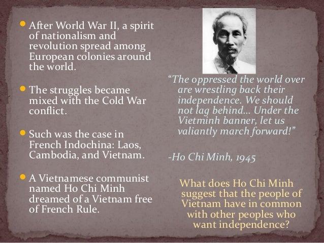 Unit 6 section 2 lesson 1  origins of the vietnam war