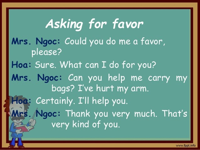 Use appropriate phrases in the box to make similar dialogues about some situations with a partner.