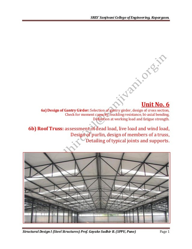 Structural steel typical members