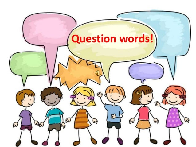 WH-question words slide