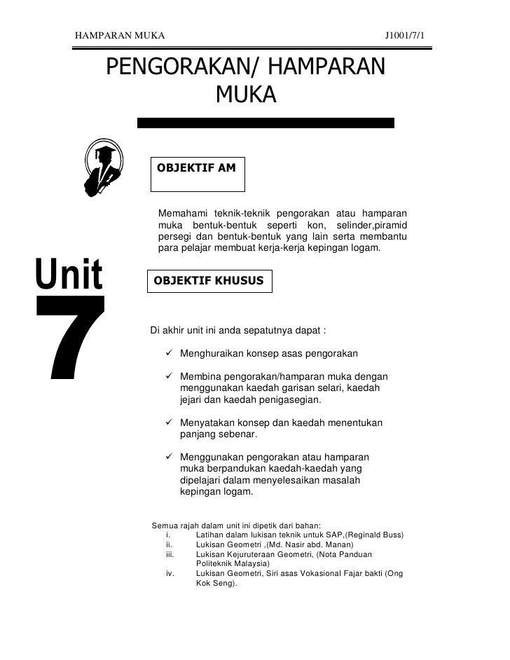 HAMPARAN MUKA                                                          J1001/7/1                 Memahami teknik-teknik pe...