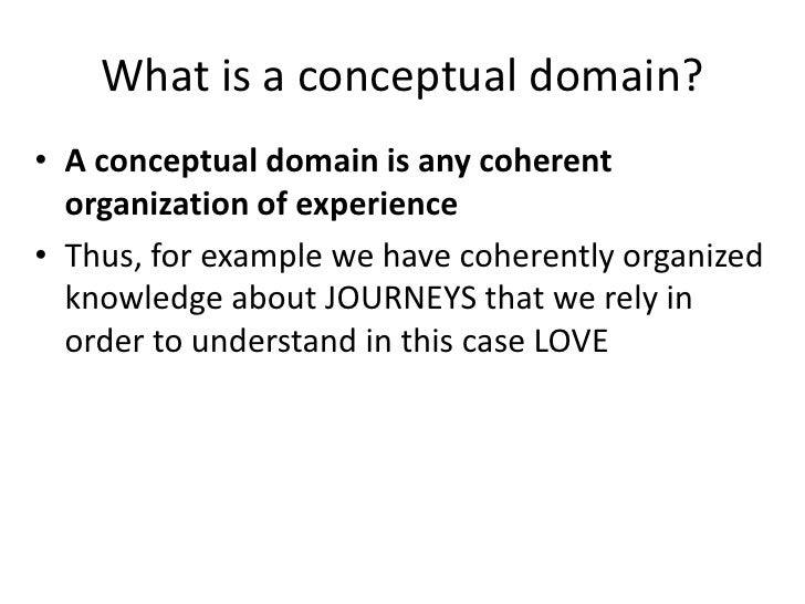 conceptual love meaning