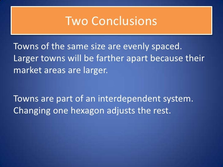 Part Three: Internal Cities                              65
