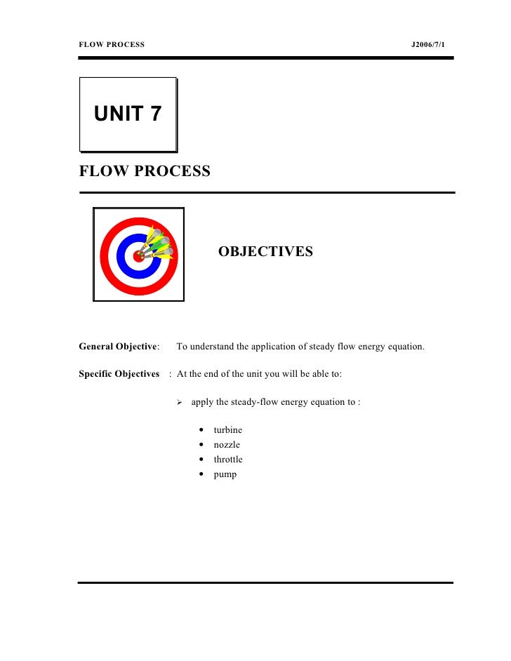 FLOW PROCESS                                                                     J2006/7/1   UNIT 7FLOW PROCESS           ...