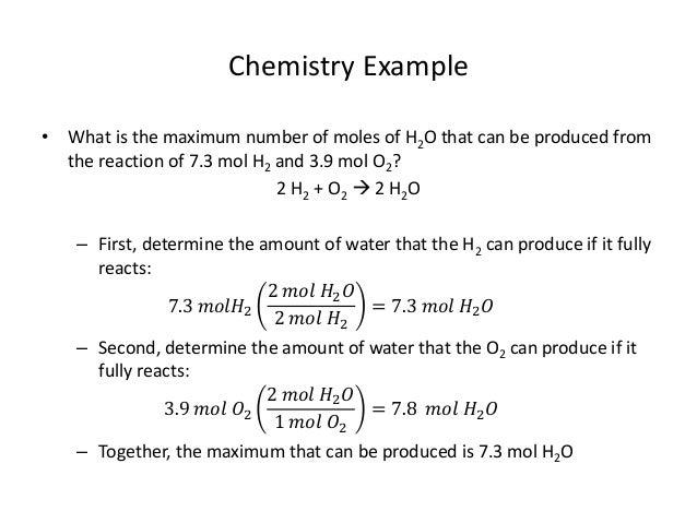 Unit 7 4 stoichiometry – limiting reactants