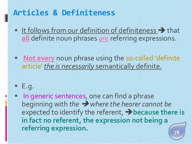 deixis and definiteness Old ie sa was a definite article, neutral in deixis, like english 'the' nipping the pie ergative -s theory right in the bud despite any focus-derailing suppositions, my reference has clearly shown that the korean nominative case marker, stripped of any nuance of deixis or definiteness, is still etymologically traced back to a demonstrative.