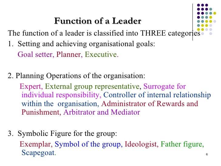 Unit 7 - leadership