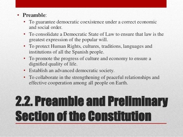Unit 7. spanish constitution