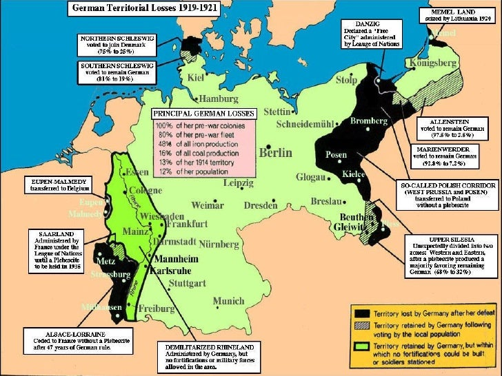 Unit PowerPoint The Road To World War II - Germany map during world war 2