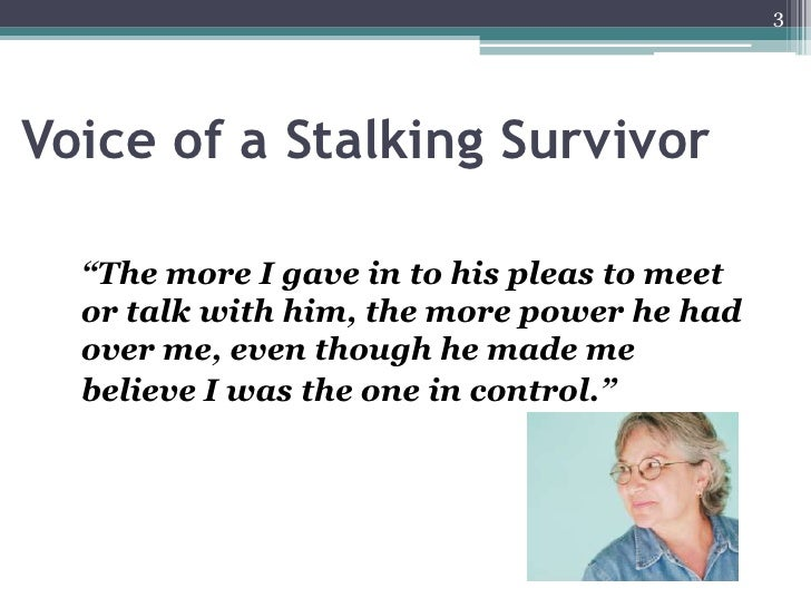 relationship dynamics between stalking and domestic violence