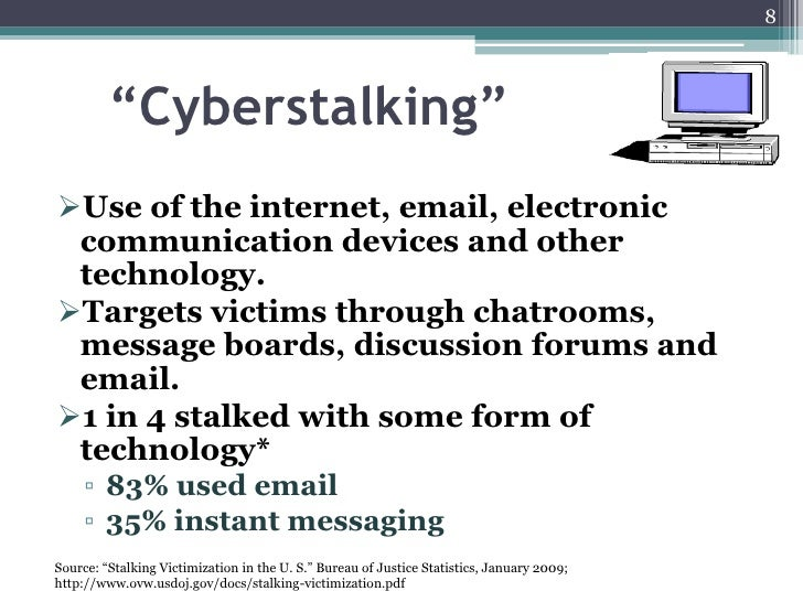 examples of cyberstalking