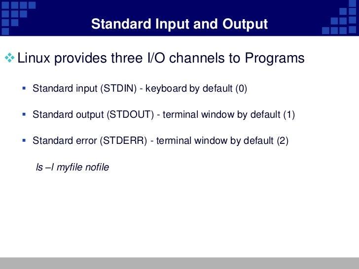 Unit 7 standard i o