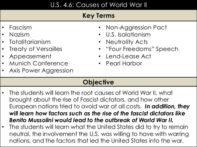 Unit 7: World War II [PowerPoint: Part 1]