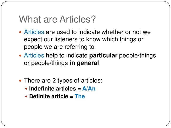 how to search for articles
