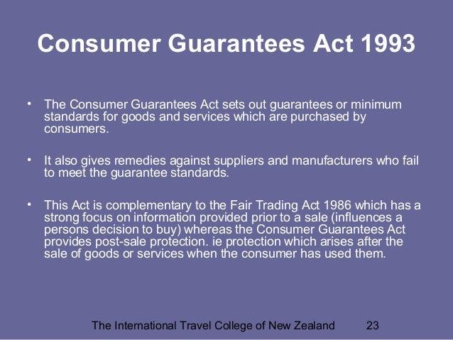consumer warrant respond essay
