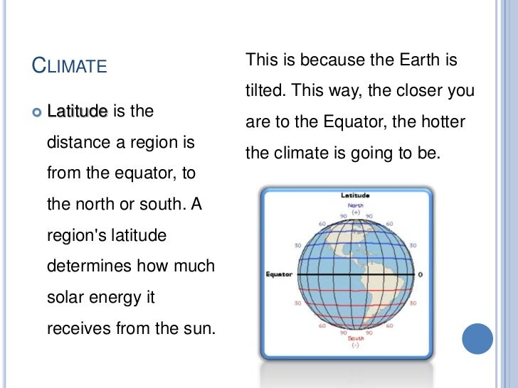 CLIMATE   Altitude refers to the vertical    distance between the    lowest point and the highest    point of an area. A ...