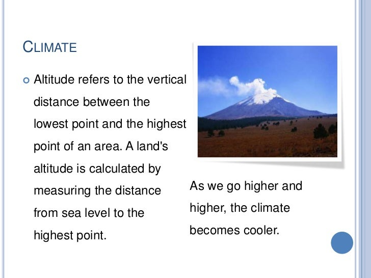 THE STUDY OF WEATHER AND CLIMATE     Weather stations have meteorological instruments to get      information about the w...