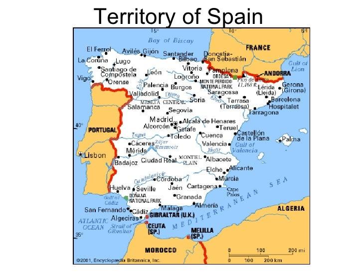 Territory of Spain