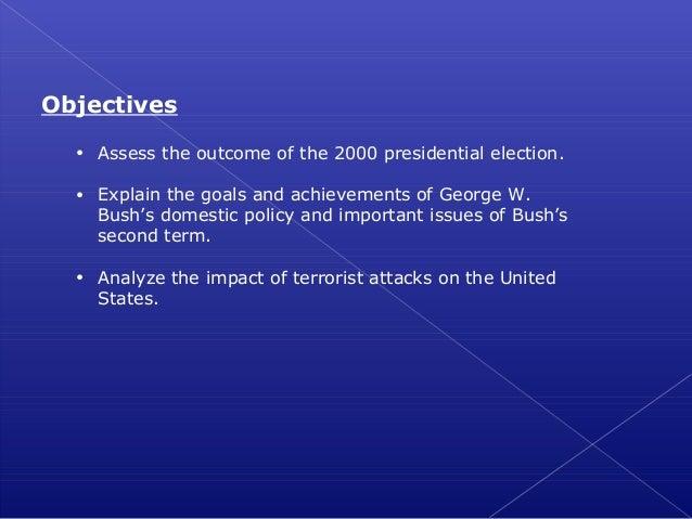 Unit 9 lesson 4  the george w. bush presidency Slide 2