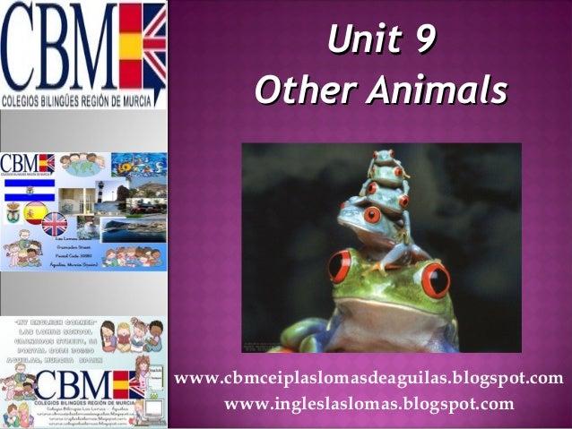 Unit 9Unit 9Other AnimalsOther Animalswww.cbmceiplaslomasdeaguilas.blogspot.comwww.ingleslaslomas.blogspot.com