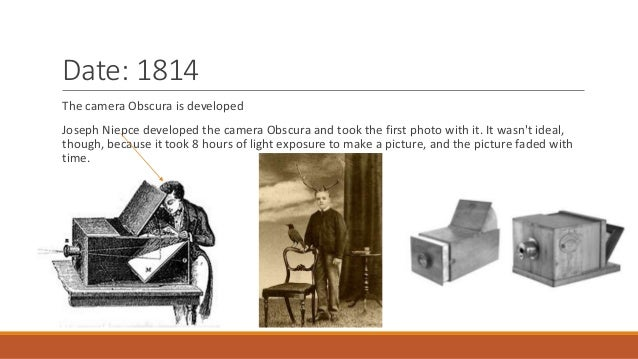 Unit 9 photography camera timeline hw