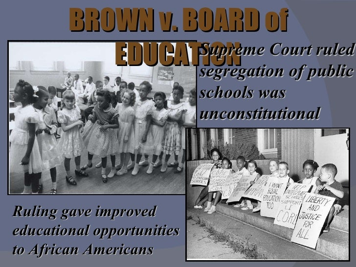 civil rights education Find out more about the history of civil rights movement, including videos, interesting articles, pictures, historical features and more  board of education.