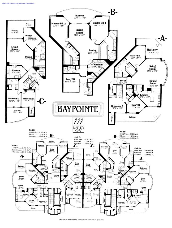 Unit A C In Baypointe At Naples Cay Naples Florida Text Marked