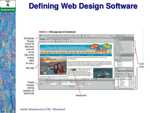 dreamweaver website design