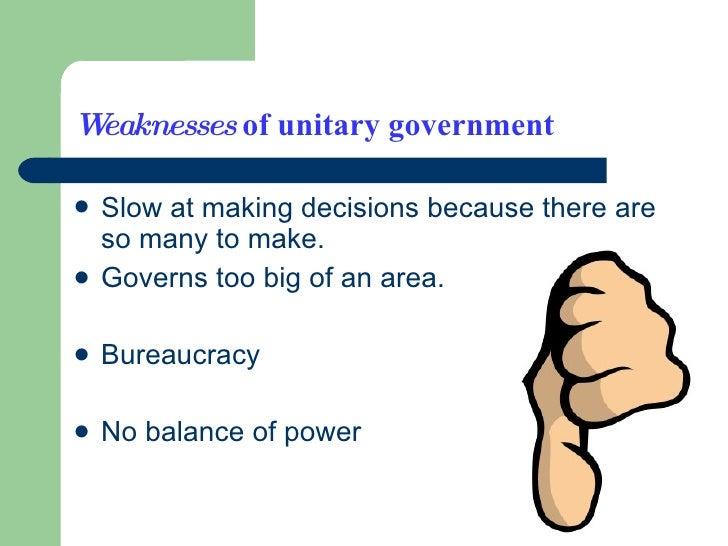 Unitary Government