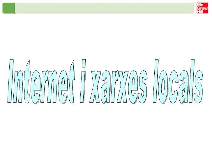 Internet i xarxes locals