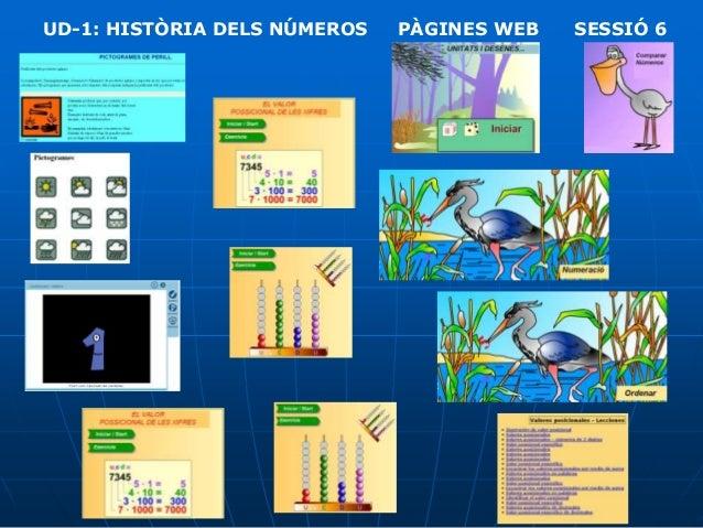 UD-1: HISTÒRIA DELS NÚMEROS  PÀGINES WEB  SESSIÓ 6