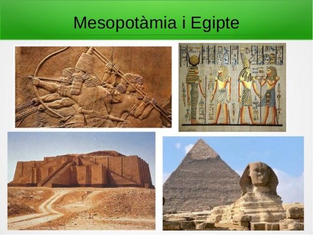 Mesopotàmia i Egipte