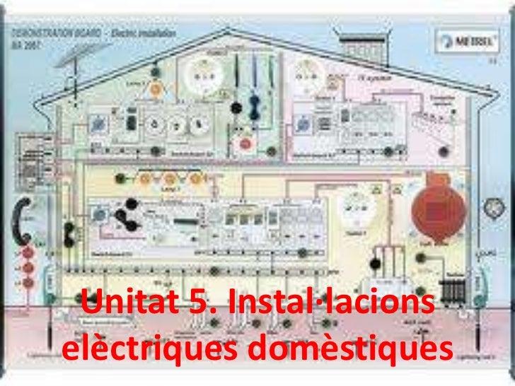 Unitat 5. Instal·lacionselèctriques domèstiques