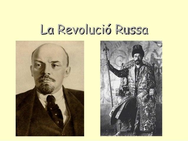La Revolució RussaLa Revolució Russa