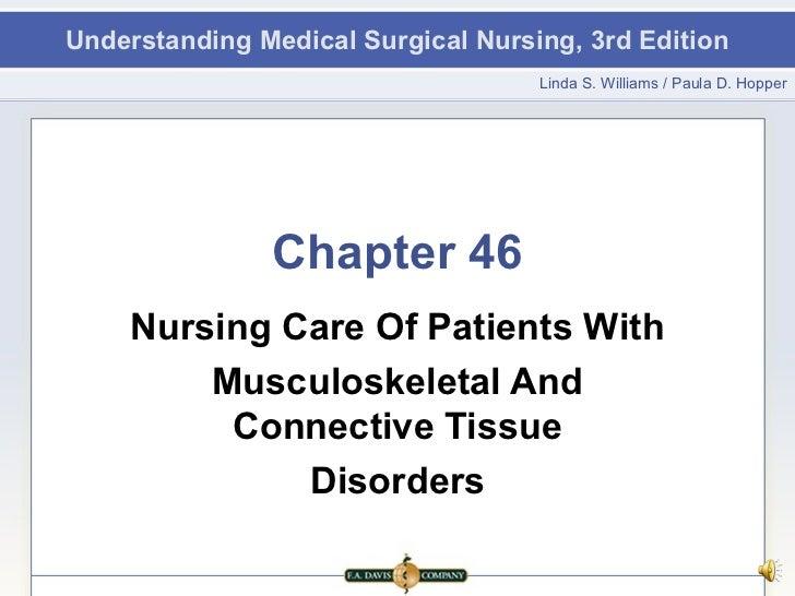 Understanding Medical Surgical Nursing, 3rd Edition                                    Linda S. Williams / Paula D. Hopper...