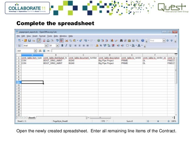 unit contract tracking in primavera contract management