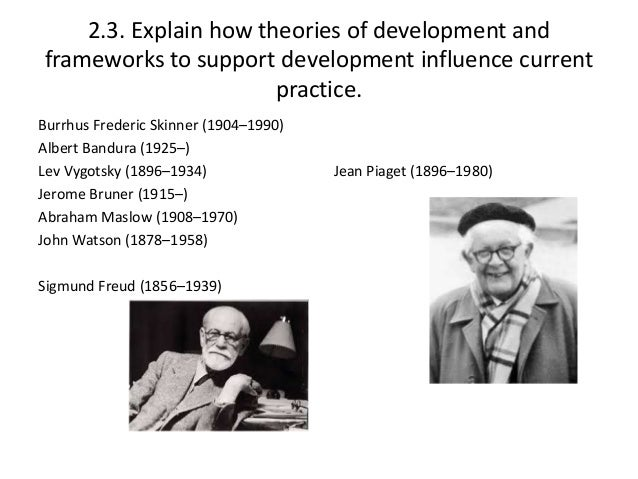 The Enduring Influence of Jean Piaget